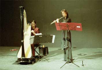 Duo Dali Harfe Querfloete