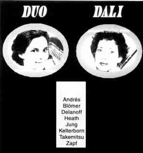 Harfe Flöte Duo Dali